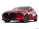 2020 Mazda MAZDA3 w/ Preferred Package, front angle view, low wide perspective.