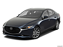 2020 Mazda MAZDA3 w/ Preferred Package, front angle view.