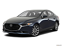 2020 Mazda MAZDA3 w/ Preferred Package, front angle medium view.