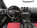 2020 Nissan 370Z Nismo, steering wheel/center console.