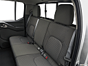 2020 Nissan Frontier SV, rear seats from drivers side.