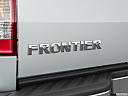 2020 Nissan Frontier SV, rear model badge/emblem