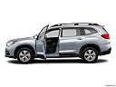 2020 Subaru Ascent 8- Passenger, driver's side profile with drivers side door open.
