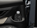 2020 Subaru Ascent 8- Passenger, second row side cup holder with coffee prop, or second row door cup holder with water bottle.