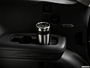 2020 Subaru Ascent 8- Passenger, third row side cup holder with coffee prop.