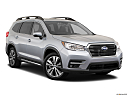 2020 Subaru Ascent Limited 7-Passenger, front passenger 3/4 w/ wheels turned.