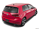 2020 Volkswagen Golf GTI 2.0T S, rear 3/4 angle view.