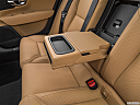 2020 Volvo V90 T5 Inscription, rear center console with closed lid from driver's side looking down.