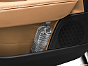 2020 Volvo V90 T5 Inscription, second row side cup holder with coffee prop, or second row door cup holder with water bottle.