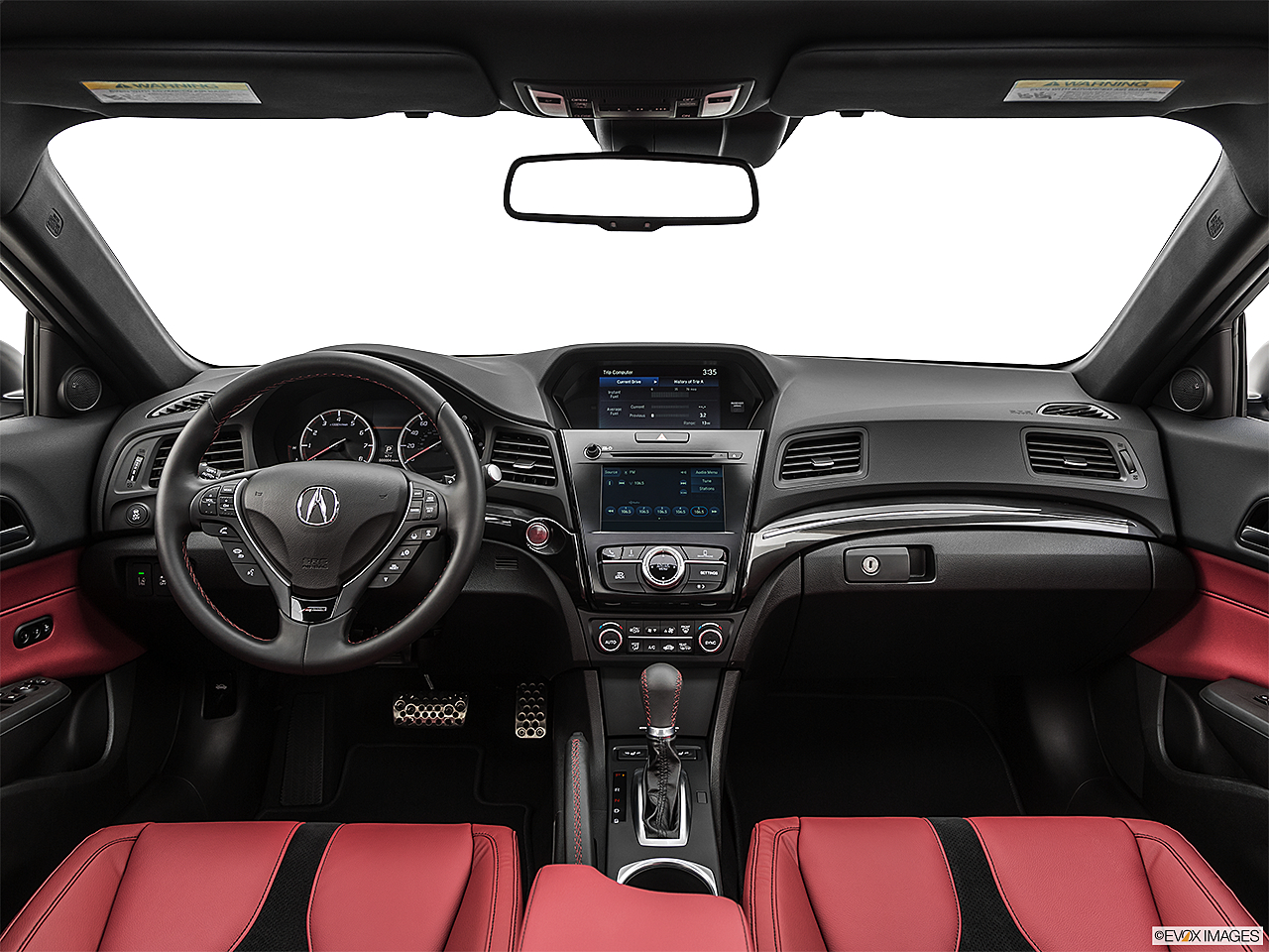 2021 Acura ILX Premium and A-Spec Package, centered wide dash shot