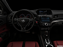 "2021 Acura ILX Premium and A-Spec Package, centered wide dash shot - ""night"" shot."