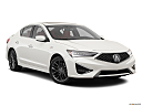 2021 Acura ILX Premium and A-Spec Package, front passenger 3/4 w/ wheels turned.