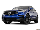 2021 Acura RDX A-Spec Package, front angle view, low wide perspective.