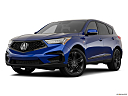2021 Acura RDX A-Spec Package, front angle medium view.