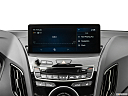 2021 Acura RDX, closeup of radio head unit