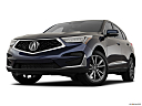 2021 Acura RDX, front angle view, low wide perspective.