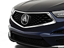 2021 Acura RDX, close up of grill.