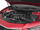 2021 Acura TLX, engine.