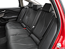 2021 Acura TLX, rear seats from drivers side.