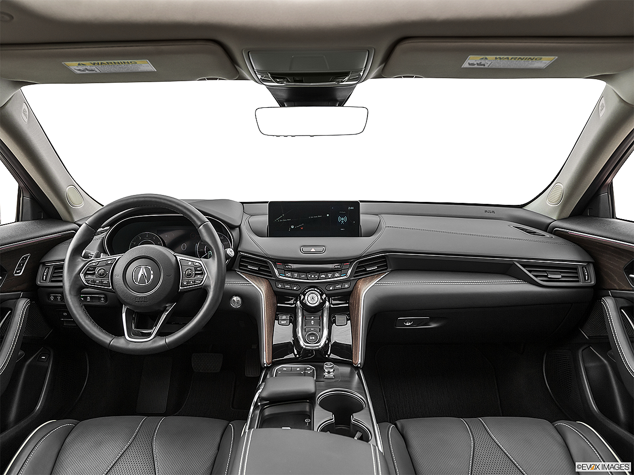 2021 Acura TLX, centered wide dash shot