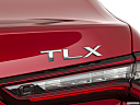 2021 Acura TLX, rear model badge/emblem