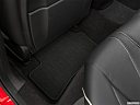 2021 Acura TLX, rear driver's side floor mat. mid-seat level from outside looking in.