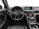 2021 Acura TLX, steering wheel/center console.