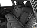 2021 Audi Q5 Premium 45 TFSI, rear seats from drivers side.