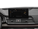 2021 Audi Q5 Premium 45 TFSI, closeup of radio head unit
