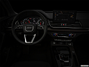 "2021 Audi Q5 Premium 45 TFSI, centered wide dash shot - ""night"" shot."