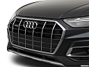 2021 Audi Q5 Premium 45 TFSI, close up of grill.
