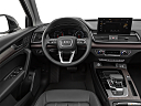 2021 Audi Q5 Premium 45 TFSI, steering wheel/center console.