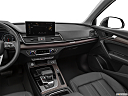 2021 Audi Q5 Premium 45 TFSI, center console/passenger side.