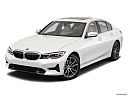 2021 BMW 3-series 330i, front angle view.