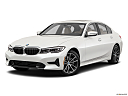 2021 BMW 3-series 330i, front angle medium view.