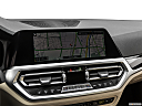 2021 BMW 3-series 330i, driver position view of navigation system.