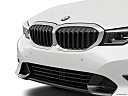 2021 BMW 3-series 330i, close up of grill.
