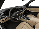 2021 BMW 3-series 330i, interior hero (driver's side).