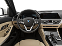 2021 BMW 3-series 330i, steering wheel/center console.