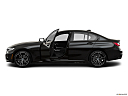 2021 BMW 3-series 330e, driver's side profile with drivers side door open.