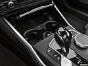 2021 BMW 3-series 330e, cup holders.