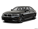 2021 BMW 3-series 330e, front angle medium view.