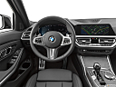2021 BMW 3-series 330e, steering wheel/center console.