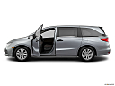 2021 Honda Odyssey LX, driver's side profile with drivers side door open.