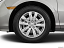 2021 Honda Odyssey LX, front drivers side wheel at profile.