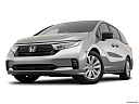 2021 Honda Odyssey LX, front angle view, low wide perspective.