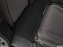 2021 Honda Odyssey LX, rear driver's side floor mat. mid-seat level from outside looking in.