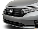 2021 Honda Odyssey LX, close up of grill.