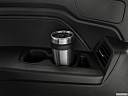 2021 Honda Odyssey LX, third row side cup holder with coffee prop.