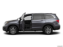 2021 Honda Pilot EX-L, driver's side profile with drivers side door open.